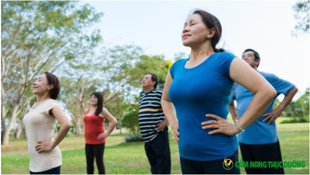 bài tập thể dục dưỡng sinh người cao tuổi