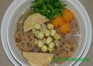 nấu ăn chay thực dưỡng