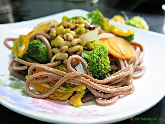 nấu món ăn thực dưỡng
