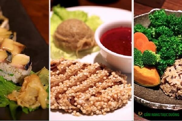 thực đơn ăn thực dưỡng